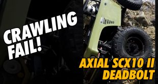 Video - Axial Deadbolt Downhill Fail #Shorts | CompetitionX