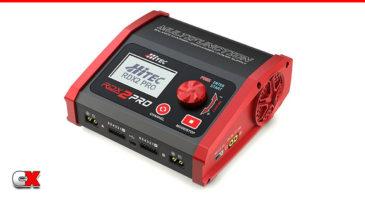 Hitec RDX2 Pro High Power Dual Port AC/DC Charger | CompetitionX