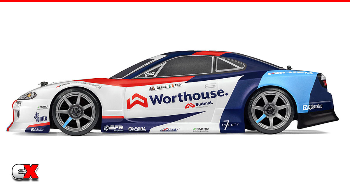 HPI RS4 Sport 3 Drift Team Worthouse Nissan Silvia S15 RTR | CompetitionX