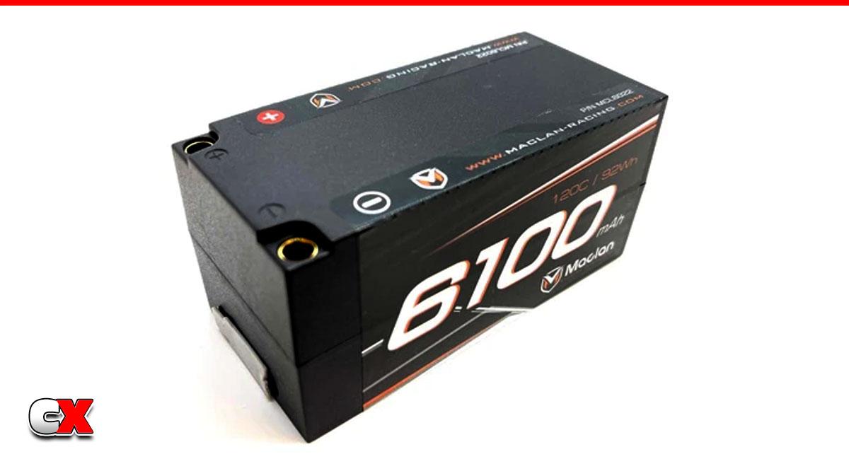 Maclan Racing Graphene HV 4S Shorty 6100mAh LiPo Battery   CompetitionX