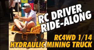 Video - Greg Vogel Riding in RC4WD Dump Truck at Pro-Line By The Fire Event #Shorts | CompetitionX