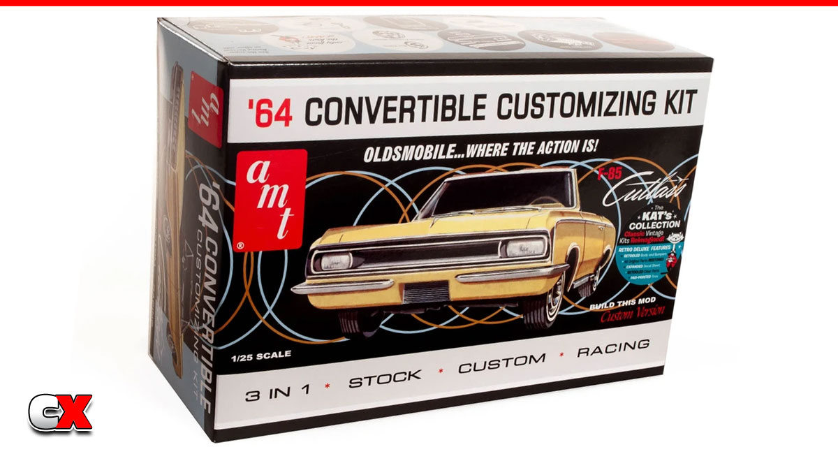 AMT 1964 Olds Cutlass F-85 Convertible 3-n-1 Model Kit | CompetitionX