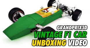 Video - GrandPrix3D Vintage F1 Unboxing | CompetitionX