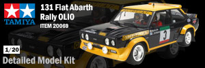 Tamiya Fiat Abarth Rally Model Kit