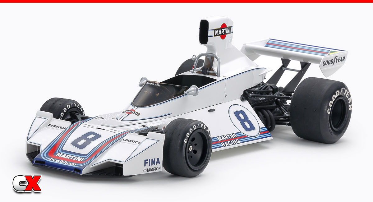 Tamiya 1975 Martini Brabham BT44B 1/12 Model Kit | CompetitionX