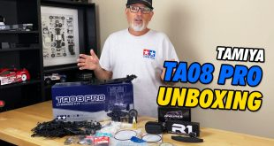 Video - Tamiya TA08 PRO Competition Touring Car Unboxing | CompetitionX