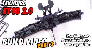 Video – Tekno ET48 2.0 E-Truggy Build Part 3 | CompetitionX