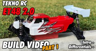 Video – Tekno ET48 2.0 1/8th 4WD Competition E-Truggy Kit Unboxing | CompetitionX