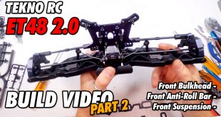 Video – Tekno ET48 2.0 E-Truggy Build Part 2 | CompetitionX