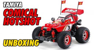 Video - Tamiya Comical Hotshot GF-01CB Unboxing | CompetitionX