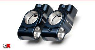 Exotek Racing Aluminum Rear Hub Set - Tekno EB410.2 | CompetitionX