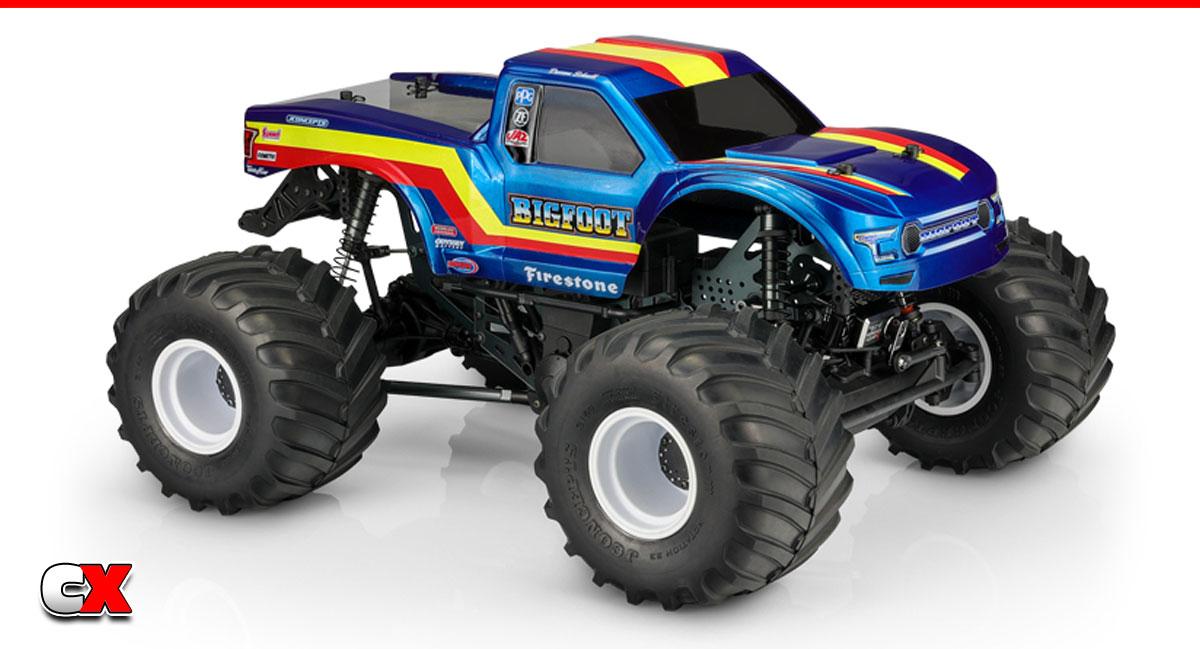 JConcepts 2020 Ford Raptor Body Set - Bigfoot 19 Racer Stripe   CompetitionX