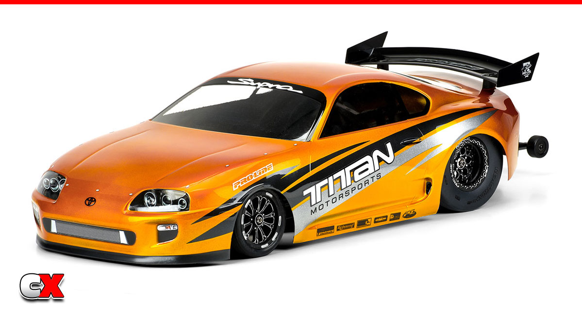 Pro-Line Racing 1995 Toyota Supra Body Set   CompetitionX