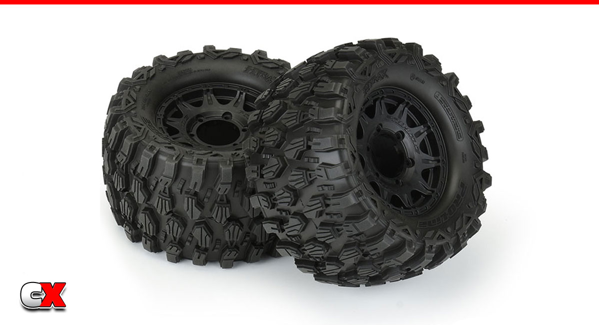"""Pro-Line Racing Hyrax 2.8"""" All Terrain Pre-Mounted Tires   CompetitionX"""
