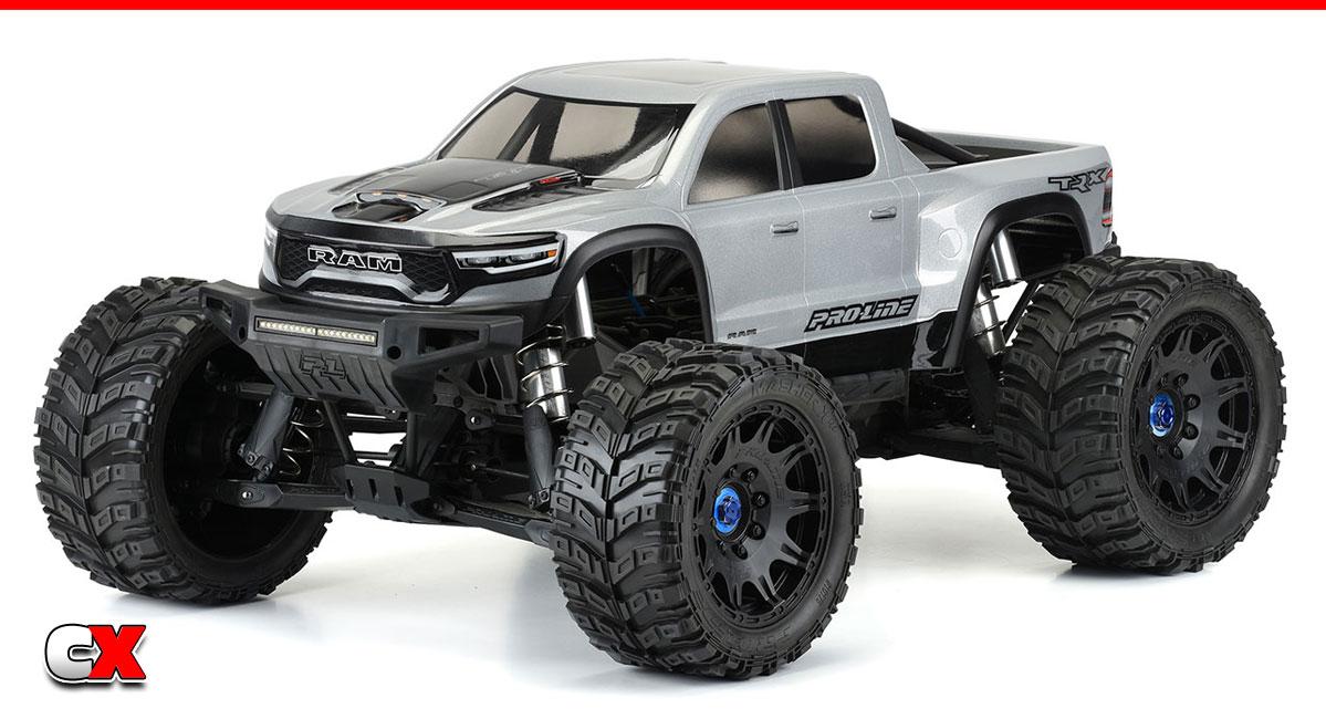 Pro-Line Racing Pre-Cut 2021 Ram 1500 Body Set   CompetitionX