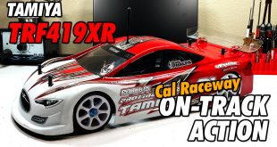 Video: 15 Laps with Phalen - Cal Raceway - Tamiya TRF419XR Touring Car | CompetitionX