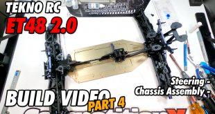 Video – Tekno ET48 2.0 E-Truggy Build Part 4 | CompetitionX