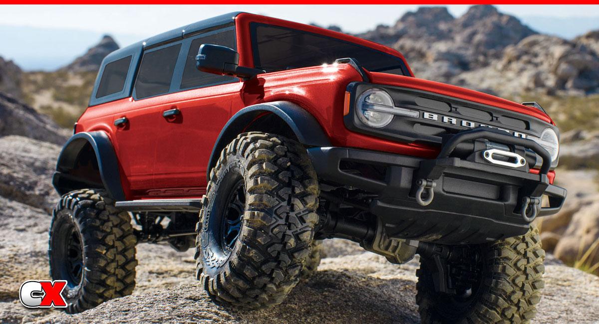 Traxxas TRX-4 2021 Ford Bronco RTR | CompetitionX