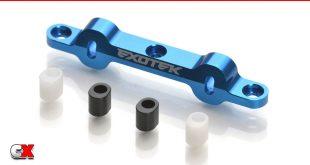 Exotek HD Aluminum Rear Arm Mount - AE DR10 | CompetitionX