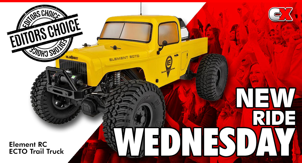 New Ride Wednesday - Element RC ECTO Trail Truck   CompetitionX