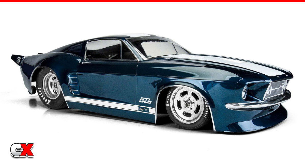 Pro-Line 1967 Ford Mustang No Prep Drag Car Body   CompetitionX