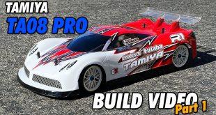 Video – Tamiya TA08 Pro Build Part 1 | CompetitionX