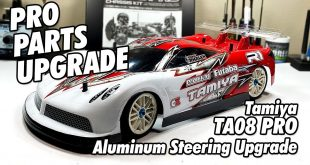 Video: How To: Installing Tamiyas Aluminum Steering Set into your TA08 Pro | CompetitionX