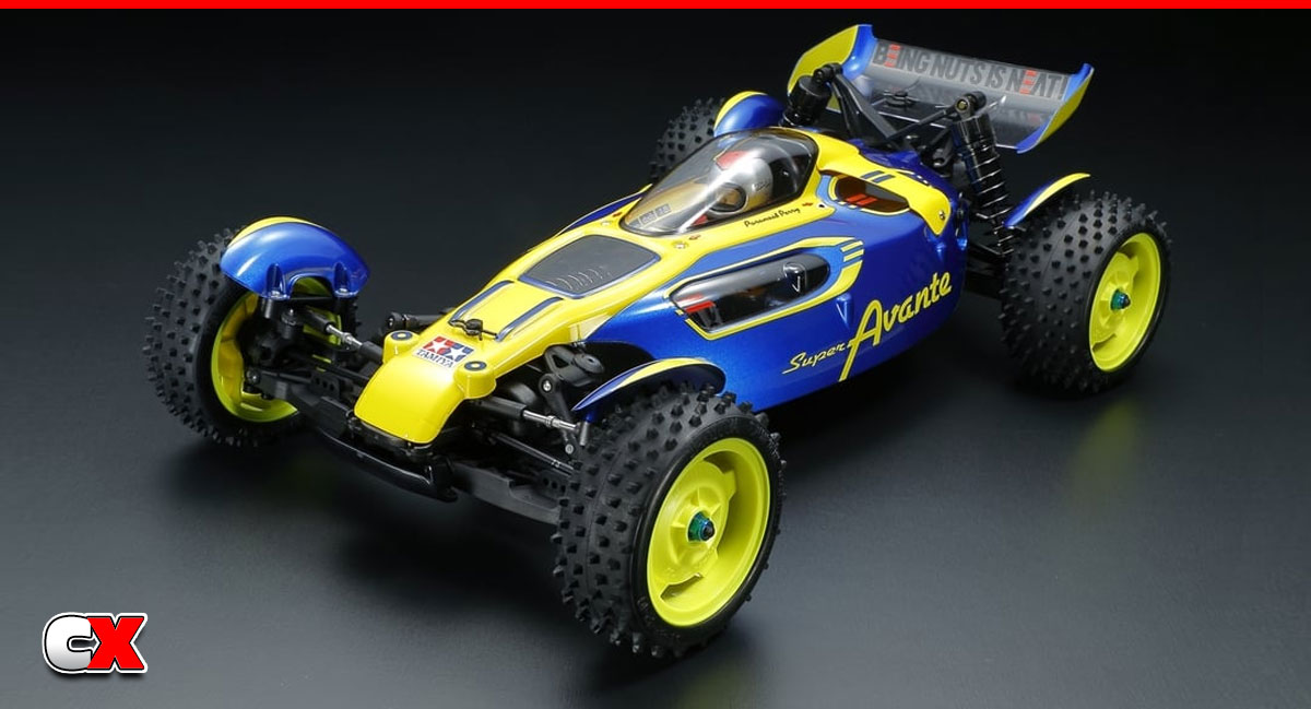 Tamiya Super Avante - TD4 Chassis | CompetitionX