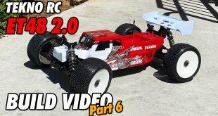 Video – Tekno ET48 2.0 E-Truggy Build Part 6 | CompetitionX