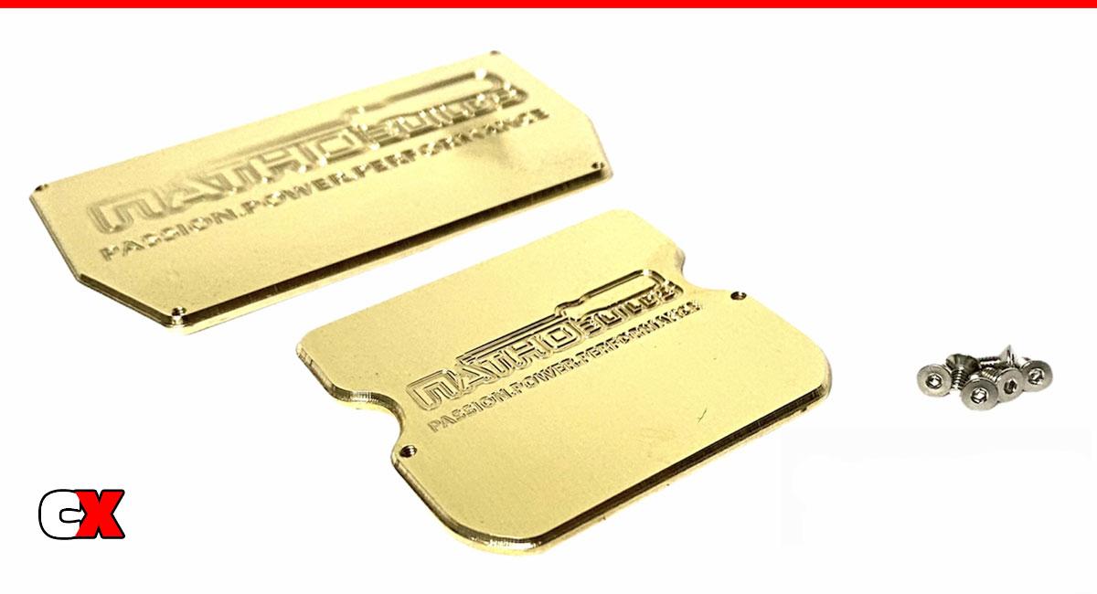 NathoBuilds Brass ESC/Servo Weights   CompetitionX