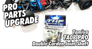How To - Installing Tamiyas Double Cardan Axles onto your TA08 Pro | CompetitionX