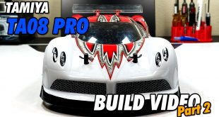 Video – Tamiya TA08 Pro Build Part 2 | CompetitionX
