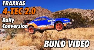 Video: Traxxas 4Tec 2.0 Rally Car Conversion - The Build | CompetitionX