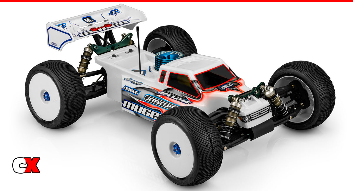 JConcepts F2 1/8 Scale Truck Body   CompetitionX