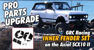 Video: How To: Installing GRC Racings Inner Fenders on your Axial SCX10 II | CompetitionX
