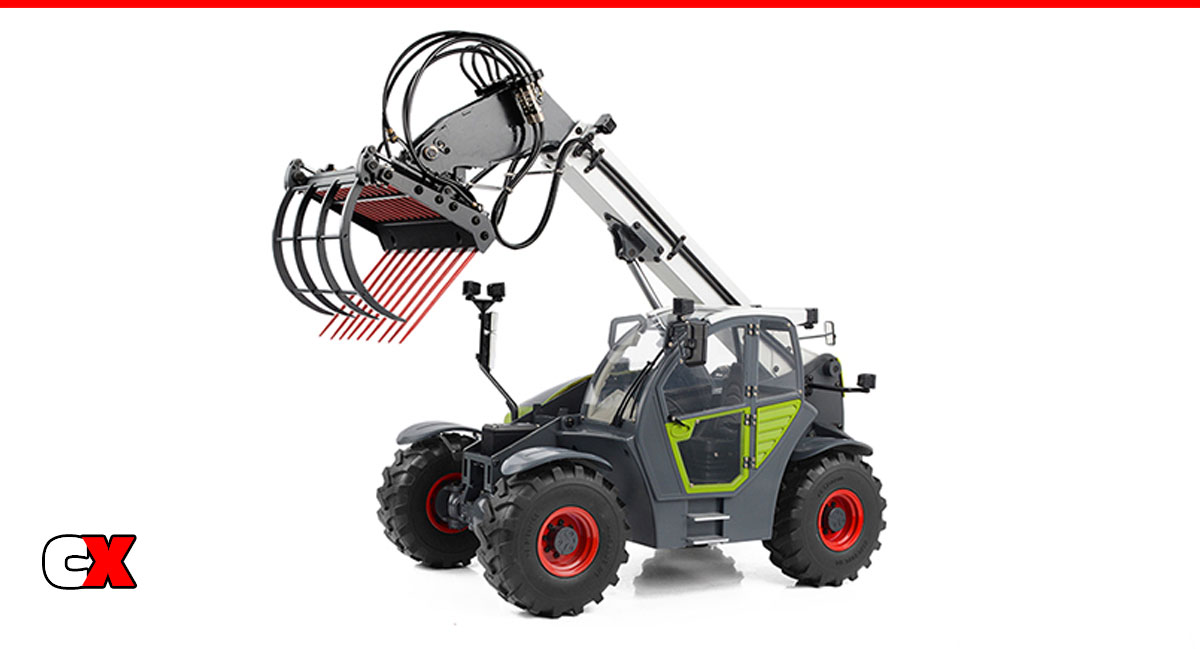 RC4WD Grabber Telescopic Hydraulic Forklift RTR | CompetitionX