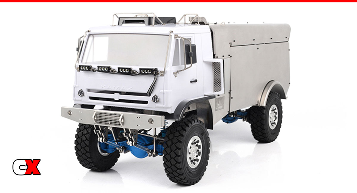 RC4WD Rally Race Semi Truck RTR | CompetitionX