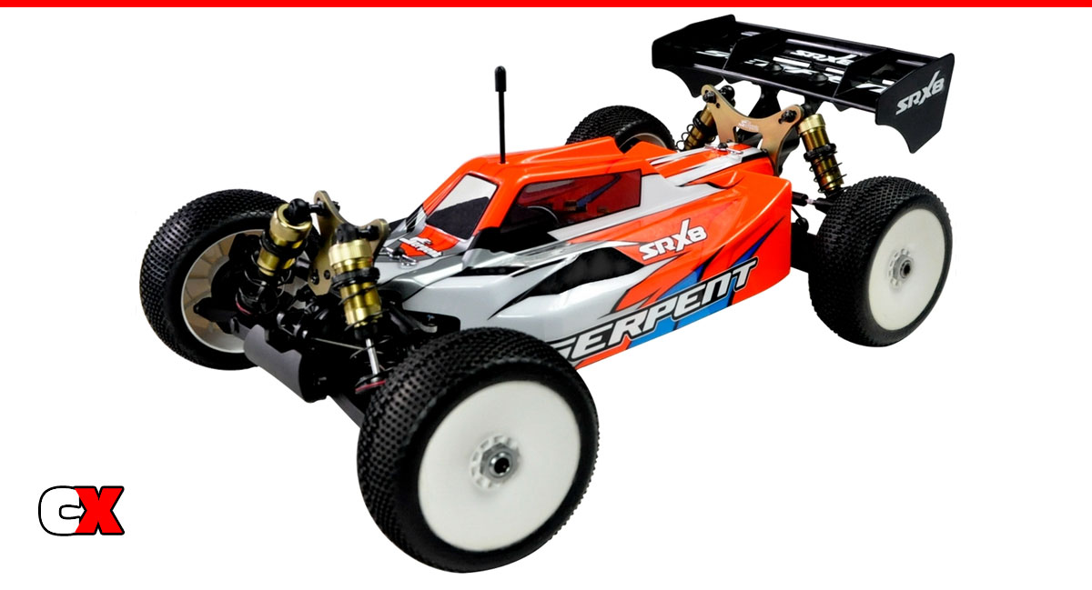 Serpent SRX8-E 1/8 4WD Buggy RTR | CompetitionX