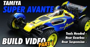 Video – Tamiya Super Avante Build Part 1 | CompetitionX