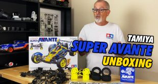 Video - Tamiya Super Avante TD4 Unboxing | CompetitionX
