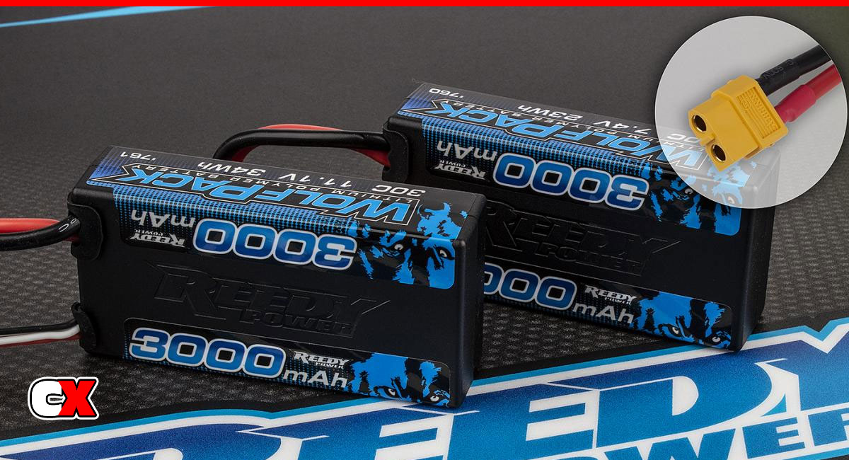 Reedy WolfPack Shorty LiPo Batteries with XT60 Plug | CompetitionX