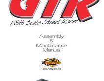 Schumacher Menace GTR Manual