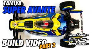 Video – Tamiya Super Avante Build Part 2 | CompetitionX