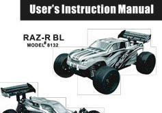 DHK Hobby Raz-R BL Manual