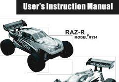 DHK Hobby Raz-R Manual