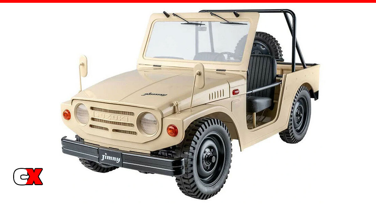 FMS Model 1/6 Suzuki Jimny 4WD Crawler | CompetitionX