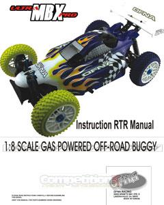 OFNA Ultra MBX Pro RTR Manual