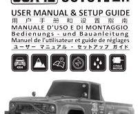 Carisma SCA-1E Coyote 2.1 Manual
