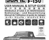 Carisma SCA-1E Ford F-150 2.1 Manual