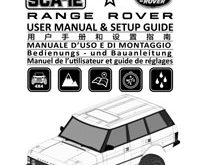 Carisma SCA-1E Range Rover Kit Plastic Wheel Manual